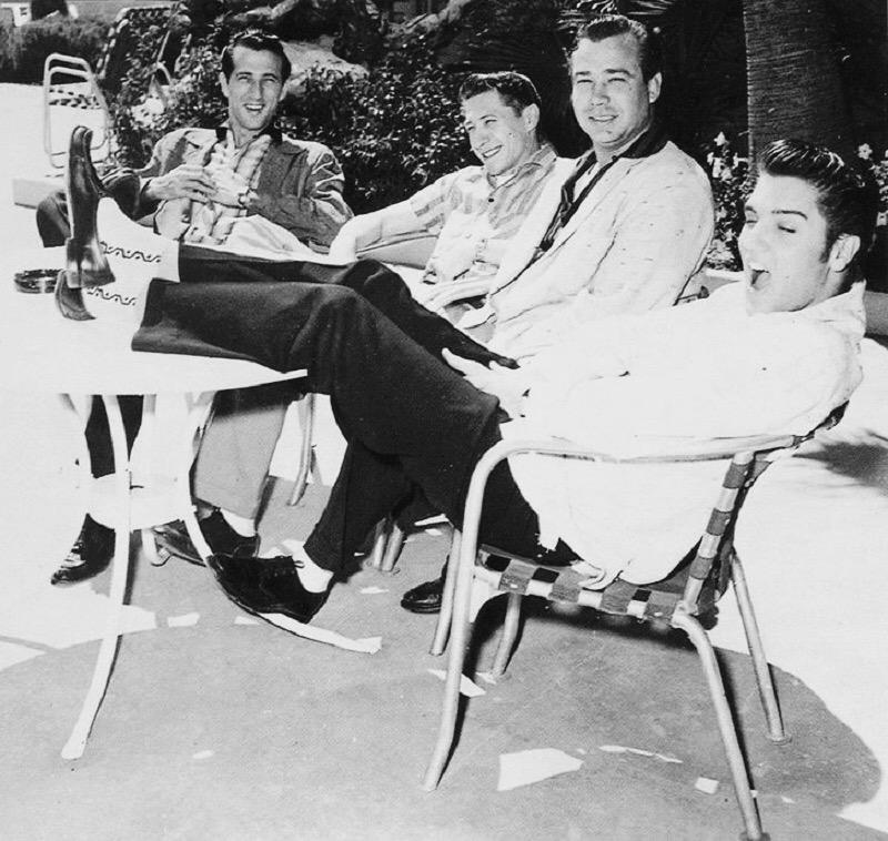 Elvis Presley Las Vegas 1956 New Frontier Hotel