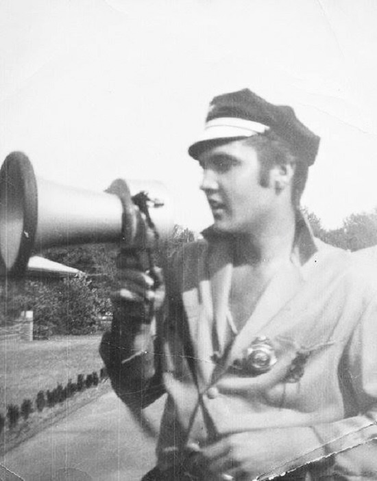 Elvis Presley October 1956 Audubon Drive