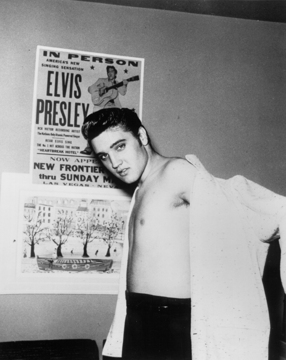 Elvis Presley Las Vegas April May 1956.
